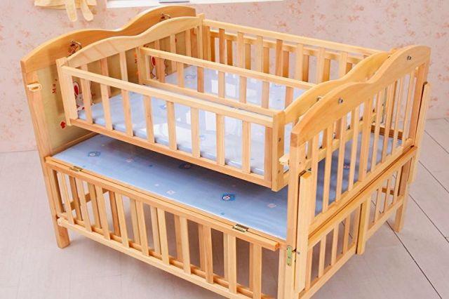 Tasarıma Göre Yenidoğanlar İçin Beşik Çeşitleri - İkiz Bebek Karyolası