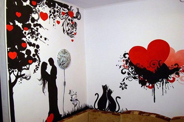 Boyama için duvarlar için şablon çeşitleri - Uygulama yöntemine bağlı olarak