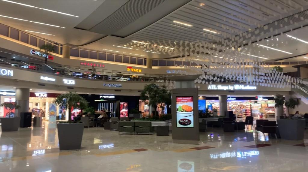 international terminal f gates
