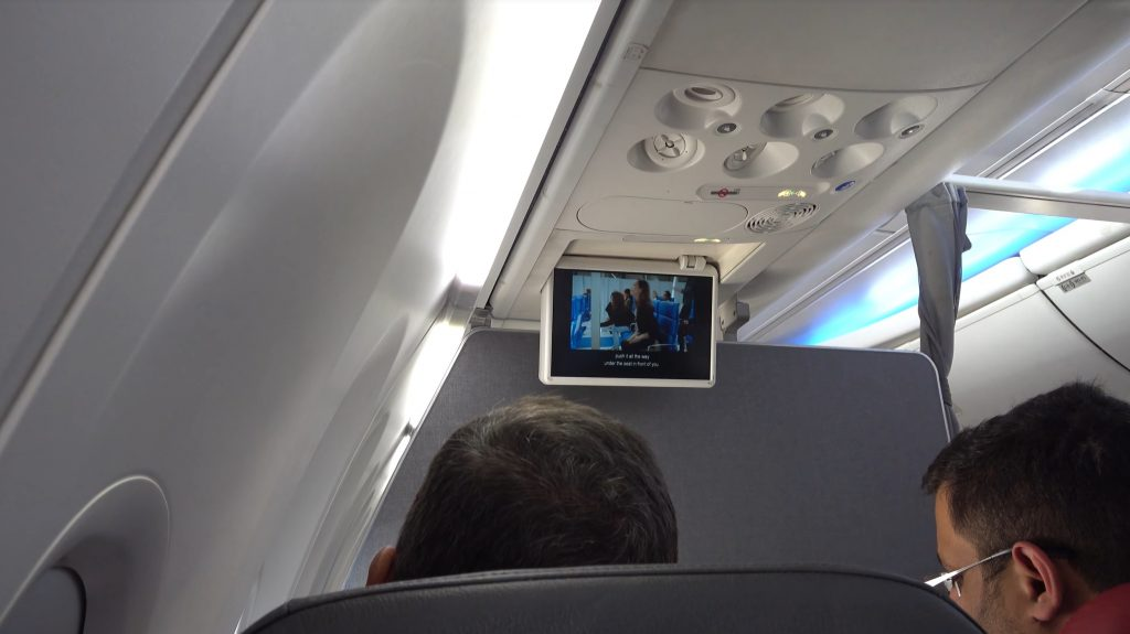 View in main cabin extra