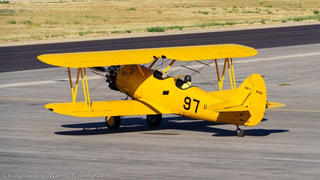 N3N yellow peril warbird roundup 2019 warhawk air museum
