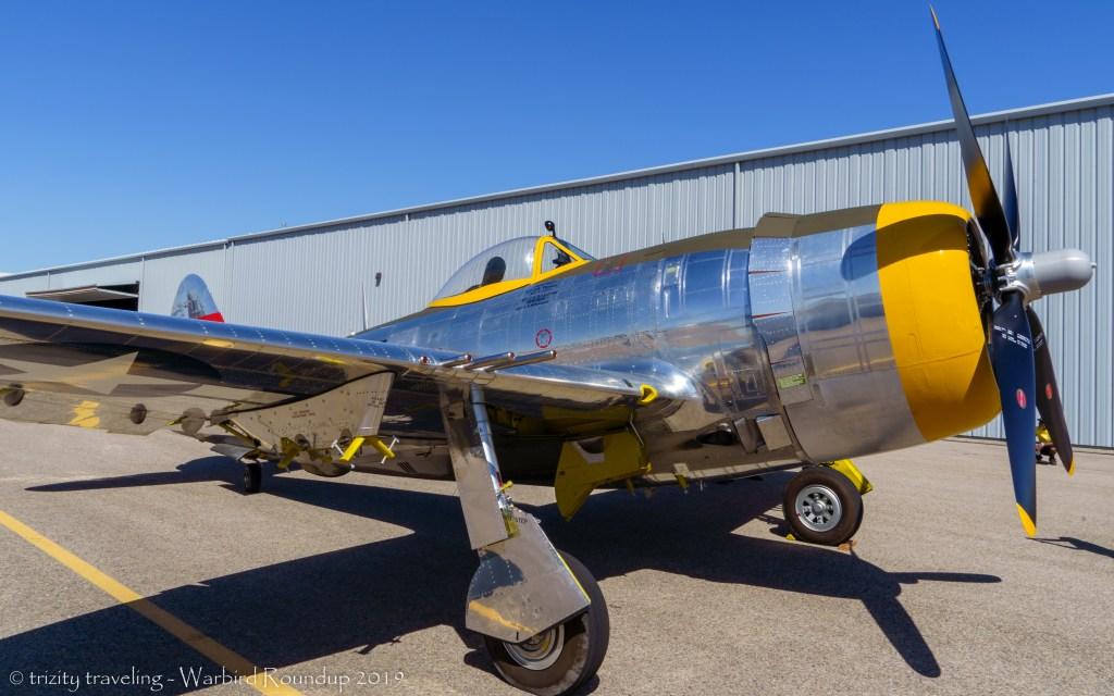 P-47 thunderbold dottie mae warbird roundup 2019 warhawk air museum