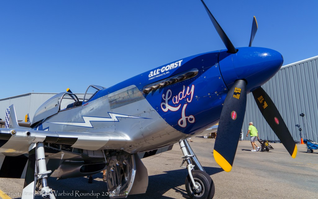 P-51D Lady Jo warbird roundup 2019 warhawk air museum