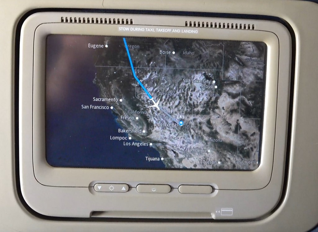 delta airlines seatback screen travel IFE