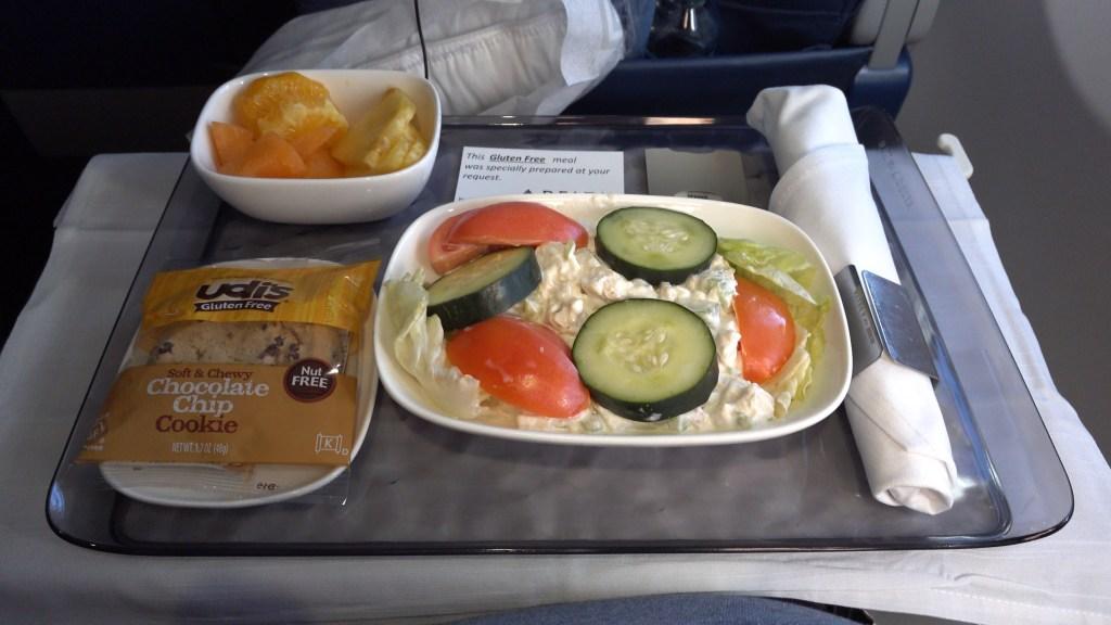 Delta gluten free chicken salad