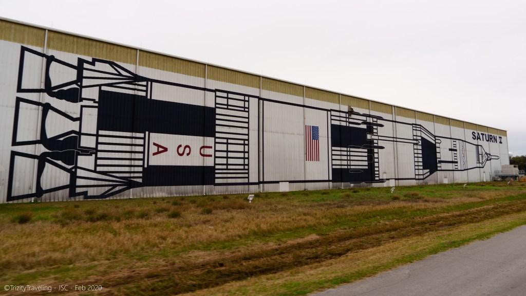 the saturn V rocket storage building