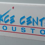 the space center houston logo