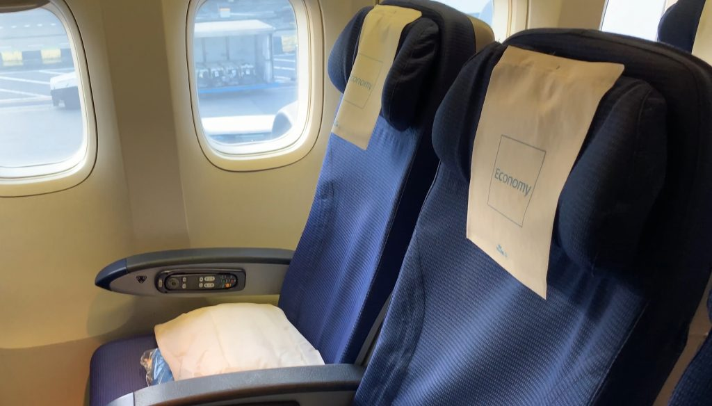 klm boeing 747 economy seat