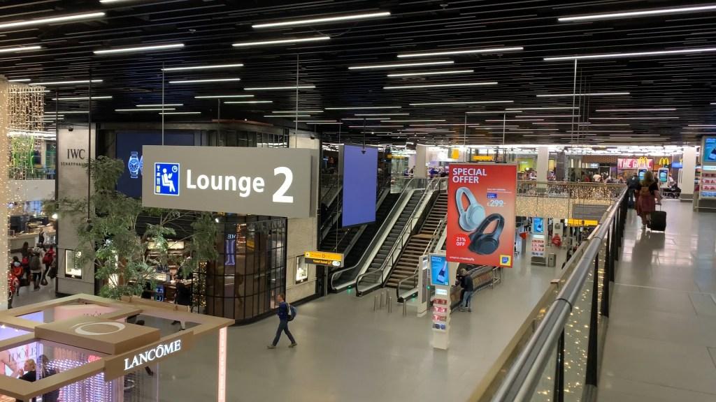 Amsterdam Schipol terminal post security