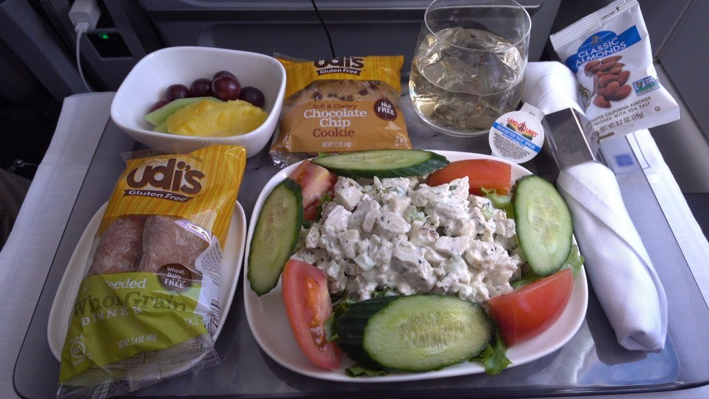 Delta airlines gluten free cold chicken salad