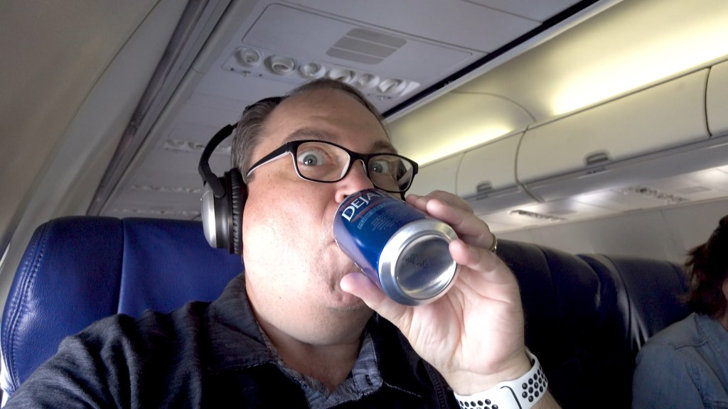 Southwest provides canned water