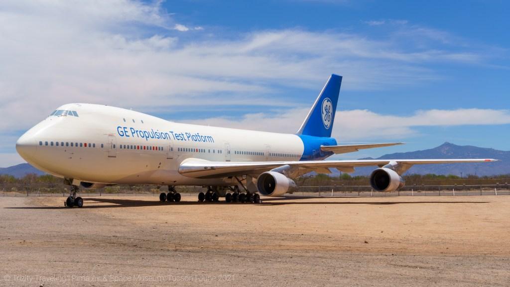 GE Propulsion Test Platform Boeing 747
