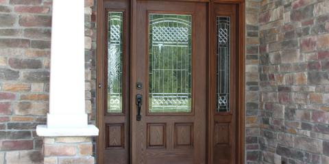 Espresso Stained Front Door By Provia Building Products