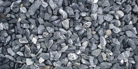 bulk gravel & crushed stone used