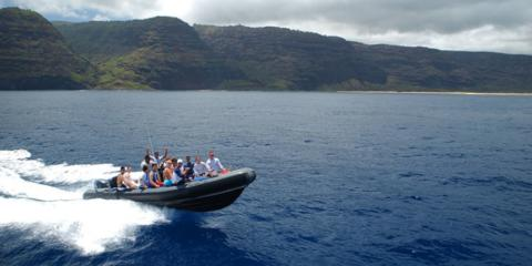 3 Reasons to Take a Rafting Tour of the Na Pali Coast, Kekaha-Waimea, Hawaii