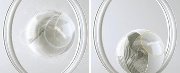 What is this crazy, waterless washing machine concept?