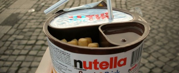 Innovative Combination: Nutella Snack & Drink