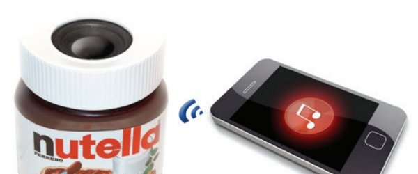 Nutella Speakers: It's Delicious Music Time