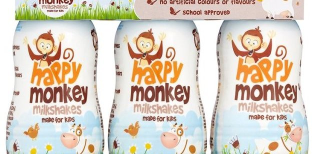 Product Spotlight: Happy Monkey Milkshakes for Kids
