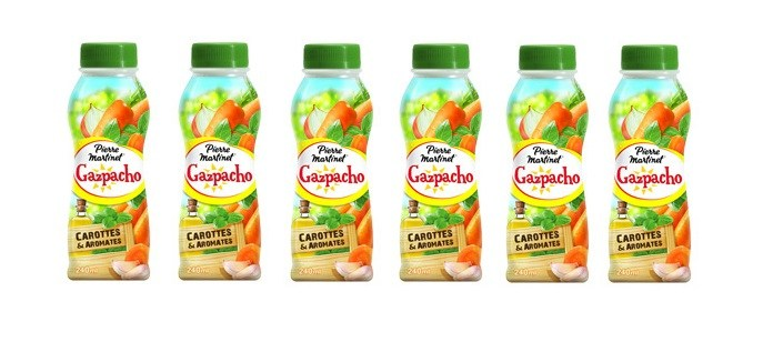 Product Spotlight: Pierre Martinet Carrot and Aromates Gazpacho Drink