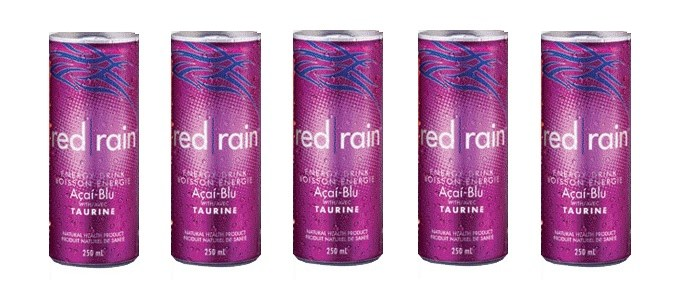Product Spotlight: Red Rain Acai Blu Energy Drink