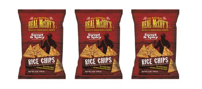 Snack Spotlight: Real McCoy's Sweet & Spicy Rice Chips