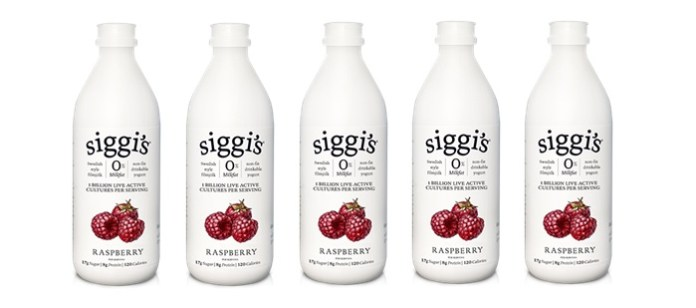 Dairy Spotlight: Siggi's Filmjölk Swedish Raspberry Drinkable Yogurt
