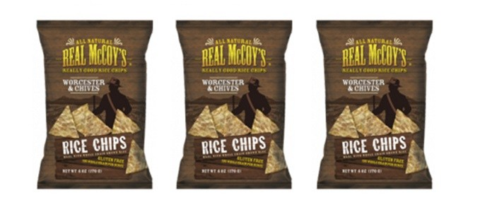 Snack Spotlight: Real McCoy's Worcester & Chives Rice Chips