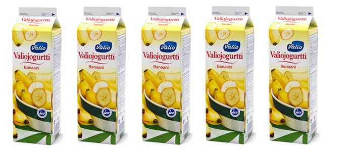 Valio Valiojogurtti Banana Flavored Yogurt Drink Big