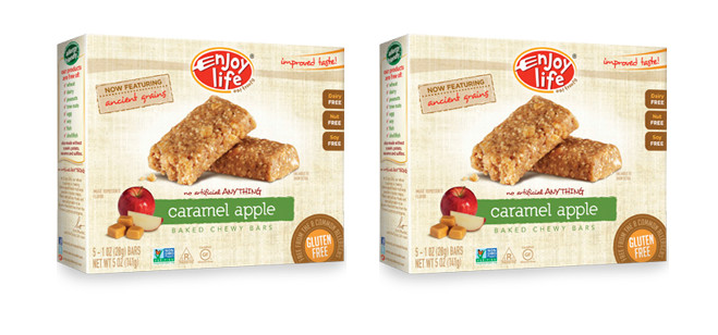Snack Spotlight: Enjoy Life Caramel Apple Baked Chewy Bars