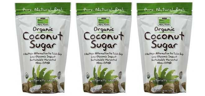 Food Spotlight: Now Foods Organic Coconut Sugar