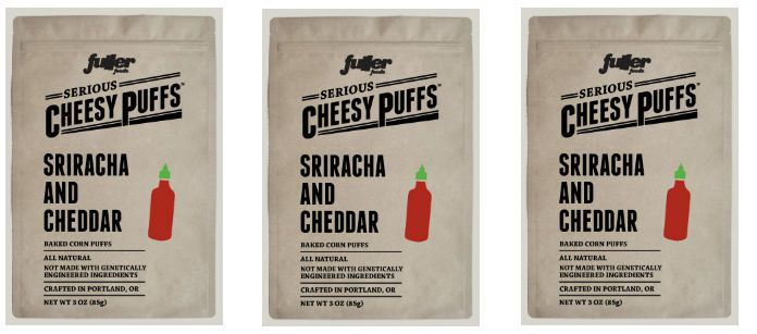 Snack Spotlight: Fuller Foods Sriracha Cheesy Puffs