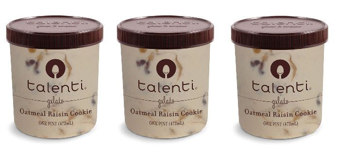 Frozen Dessert Spotlight: Talenti Oatmeal Raisin Cookie Gelato