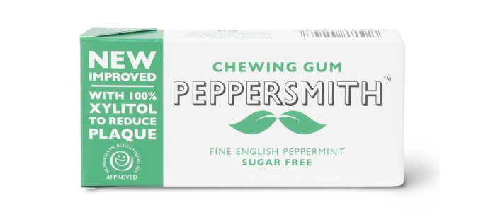 Confectionary Spotlight: Peppersmith 100% Xylitol Peppermint Chewing Gum