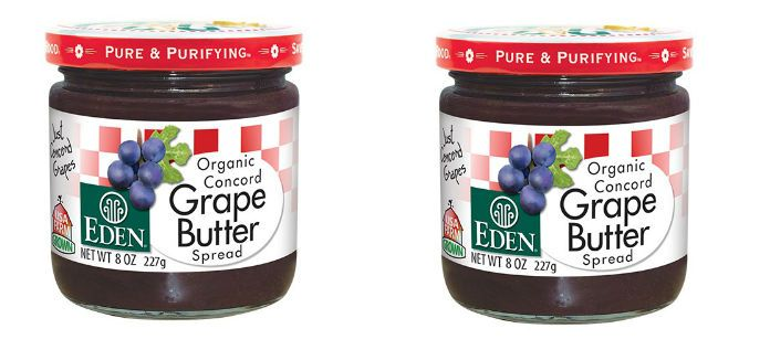 Food Spotlight: Eden Organic Grape Butter