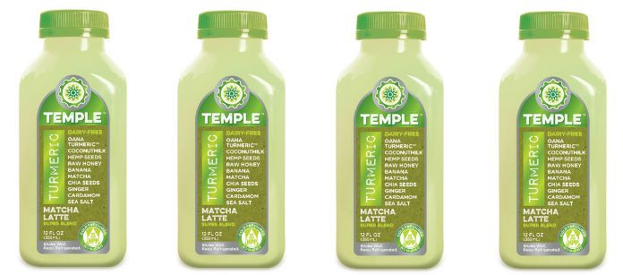 Drink Spotlight: Temple Turmeric Matcha Latte Superblend