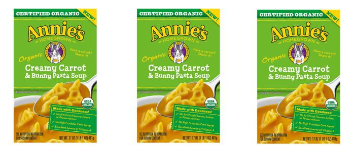 Food Spotlight: Annie's Organic Creamy Carrot & Bunny Pasta Soup
