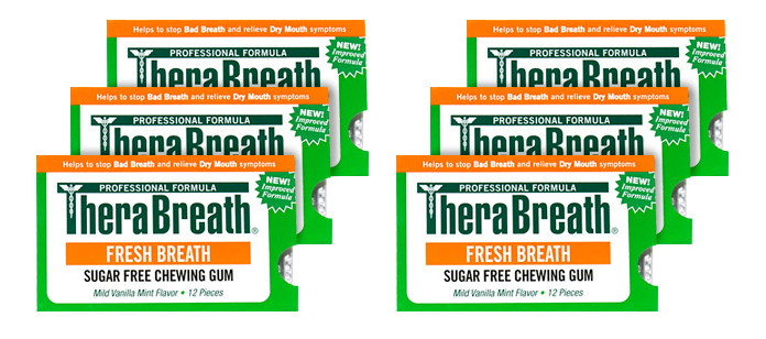 Oral Care Spotlight: TheraBreath Chewing Gum