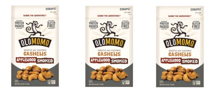 Snack Spotlight: Olomomo Applewood Smoked Cashews