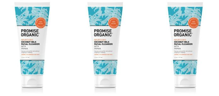 Skin Care Spotlight: Promise Organic Nourishing Coconut Milk Facial Cleanser with Papaya