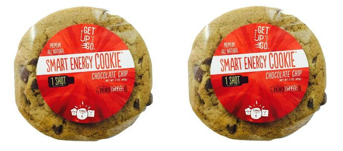 Food Spotlight: Get up and Go Caffeinated Smart Cookies- Chocolate Chip