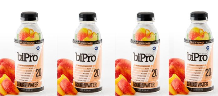 Drink Spotlight: biPro Protein Water Peach Power
