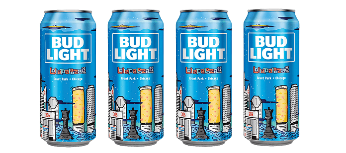 Wonderful Bud Light Ups The Ante Bringing Their Latest Collaborative Stage Moment To  Lollapalooza