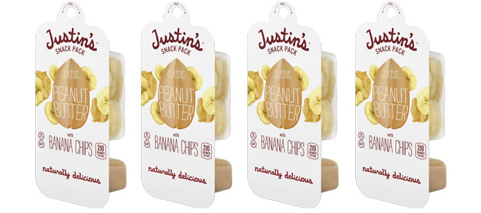 Snack Spotlight: Justin's Classic Peanut Butter + Banana Chips Snack Pack