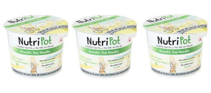 Food Spotlight: NutriPot On the Go Aromatic Thai Noodles