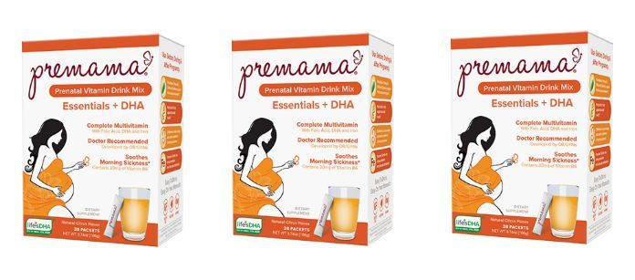 Supplement Spotlight: Premama Essentials & DHA Prenatal Vitamin Drink Mix