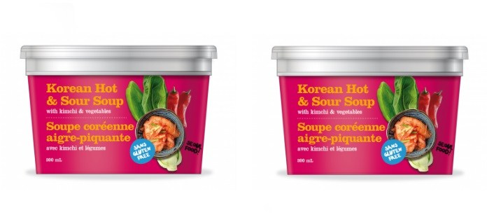 Soup Spotlight: Happy Planet Korean Hot & Sour Soup with kimchi and vegetables