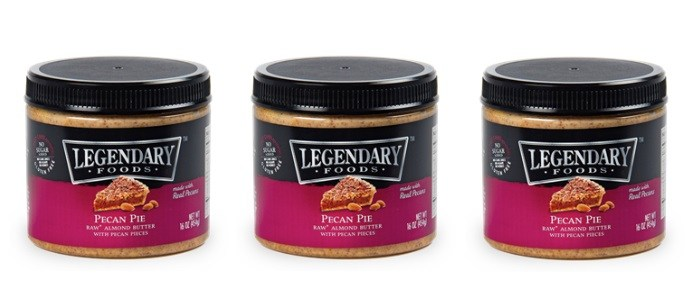 Food Spotlight: Legendary Foods Pecan Pie Almond Nut Butter