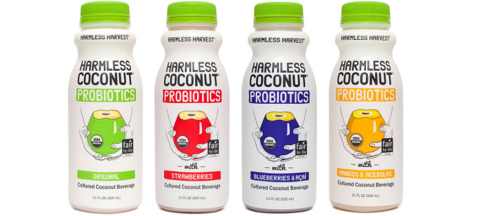 Drink Spotlight: Harmless Harvest Coconut Probiotics