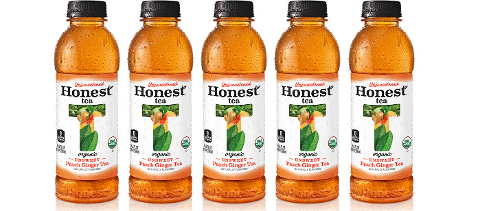 Tea Spotlight: Honest Tea Unsweet Peach Ginger Tea
